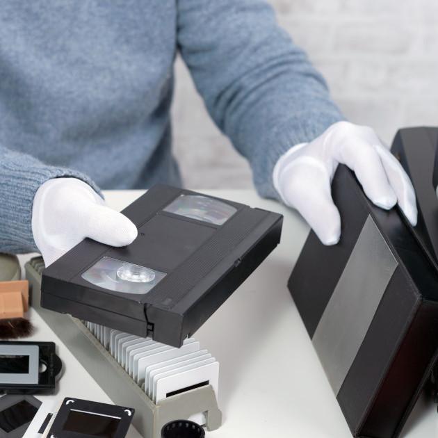 Прехвърляне на видеокасети към файл