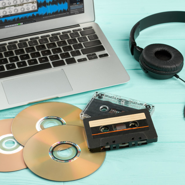 Прехвърляне на аудио касети